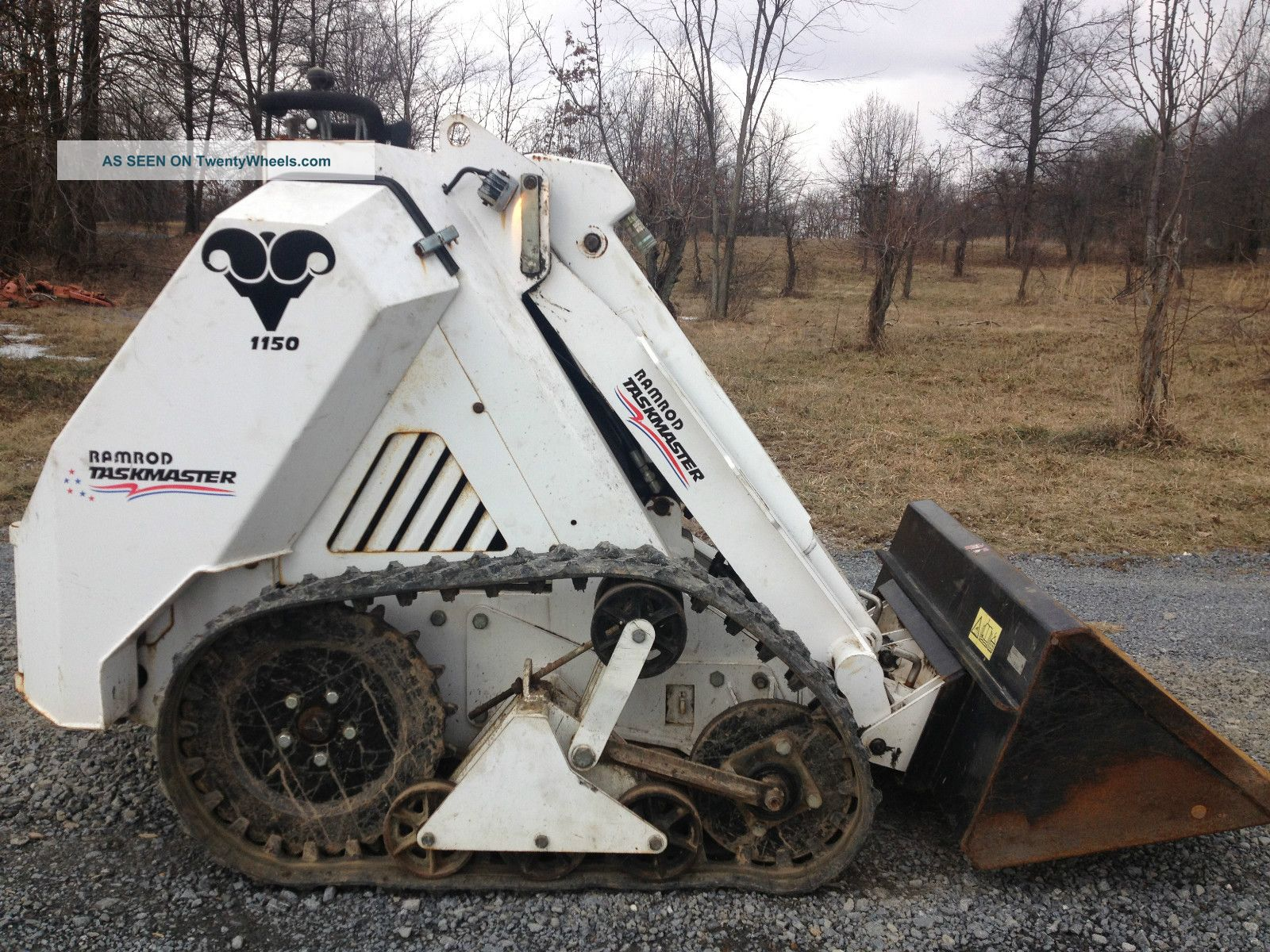 Ramrod Taskmaster Mini Tracked Skid Steer Loader Skidloader Low Cost Skid Steer Loaders photo