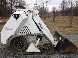 Ramrod Taskmaster Mini Tracked Skid Steer Loader Skidloader Low Cost photo