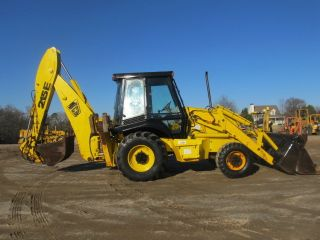 1997 Jcb 215e Loader Backhoe 4x4 photo