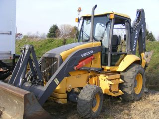 2005 Volvo Bl 60 Backhoe Loader With Erops And Extenda Hoe. photo