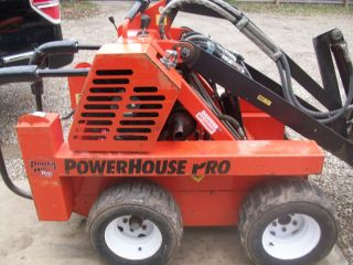 Power House Mini Skidsteer & Trailer &attachments photo