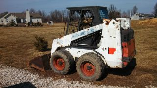 Bobcat 853 H 853h High Flow Skid Steer Loader Mechanics Special Runs Great photo