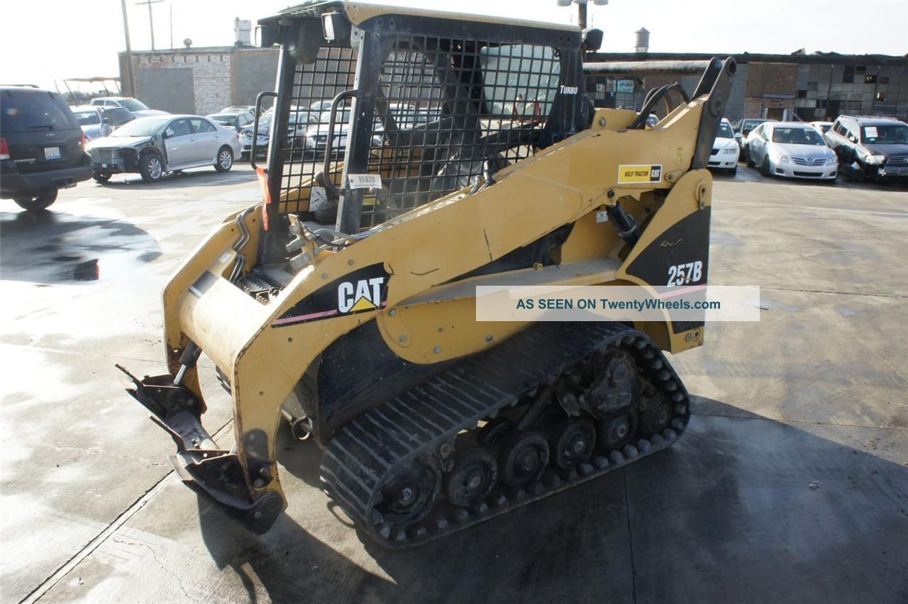 2005 Cat Caterpillar 257b Track Skid Steer Multi Terrain Loader Turbo Diesel Skid Steer Loaders photo