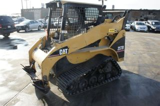 2005 Cat Caterpillar 257b Track Skid Steer Multi Terrain Loader Turbo Diesel photo