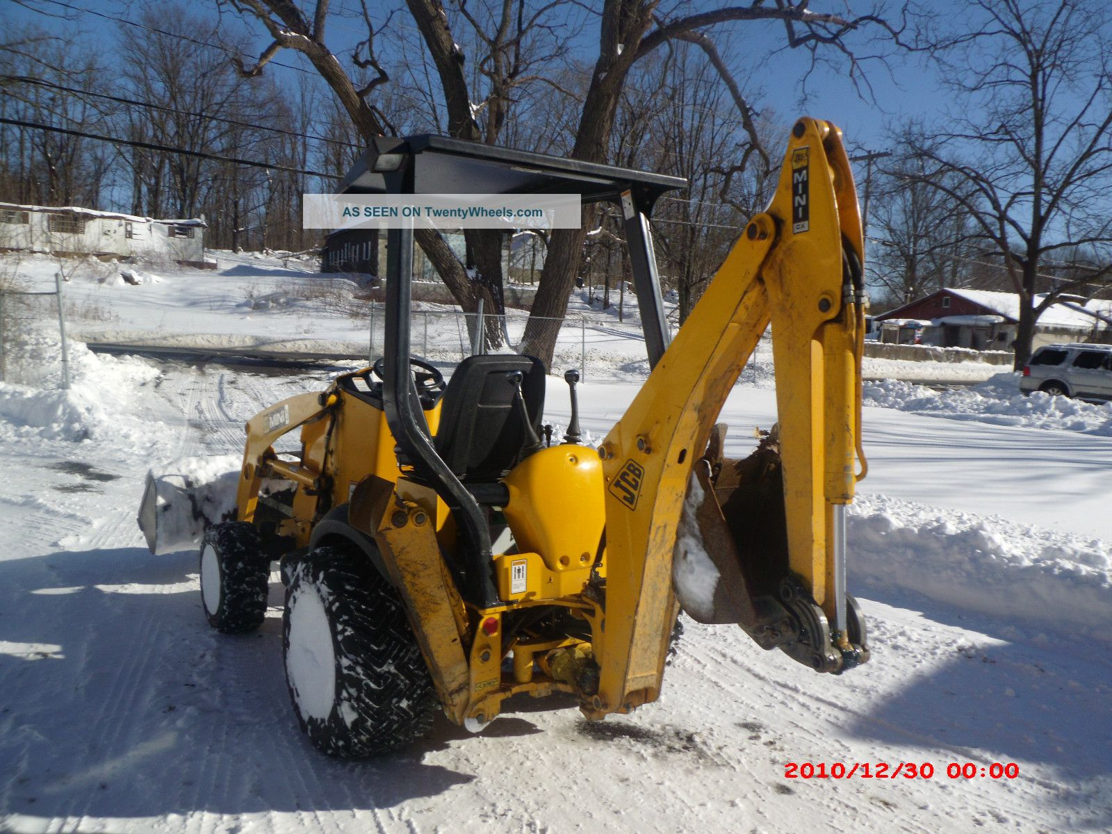 2006 Jcb Cx2 Mini Backhoe Loader Low Hours Good Condition Contruction Equip Backhoe Loaders photo