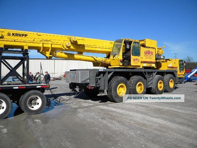 1994 Krupp 100 Ton Hyd.  T/c. . .  Kmk - 4100 Cranes photo