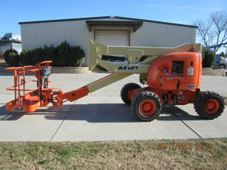 Jlg 450a Aerial Manlift Boom Lift Man Articulating Boomlift 45 ' Lift photo