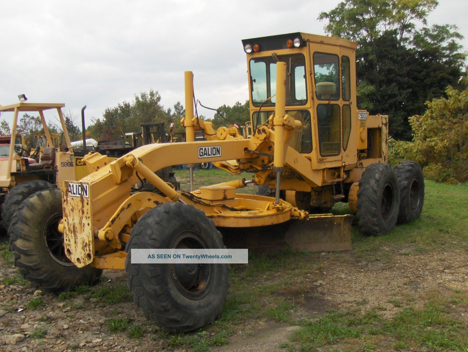 Galion T 500c Road Grader Graders photo