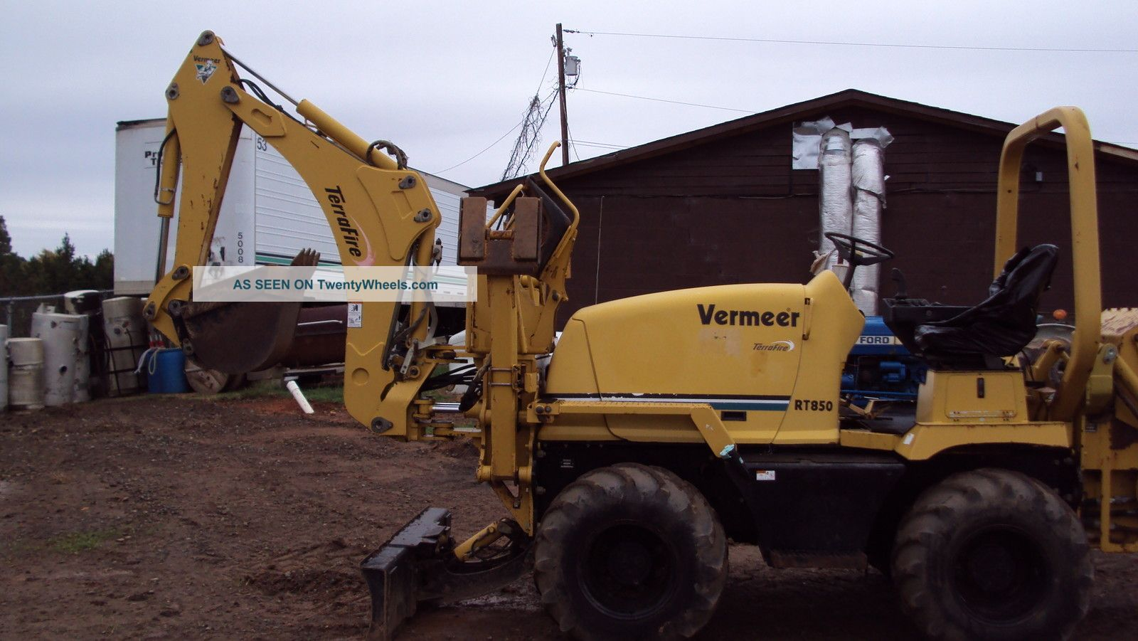 2001 Vermeer Rt850 Trencher Trenchers - Riding photo
