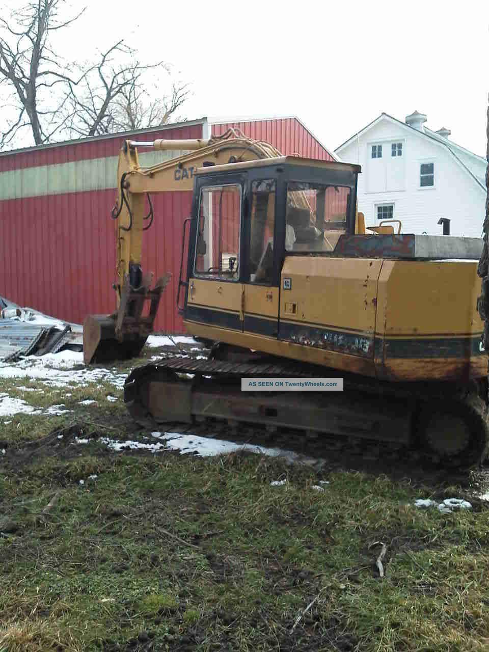Cat E 120b Excavator Excavators photo