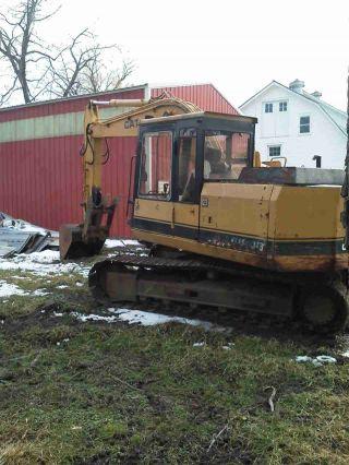 Cat E 120b Excavator photo