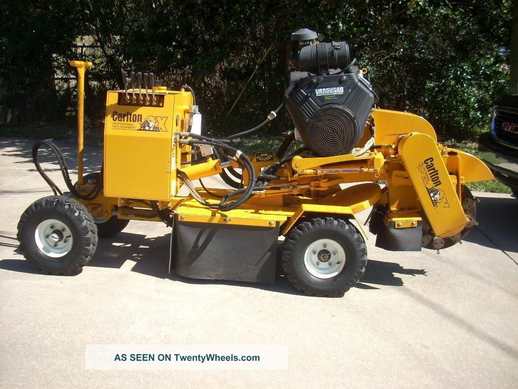Carlton Stump Grinder 215 Hrs.  Sp4012 Vermeer Rayco Equipment photo