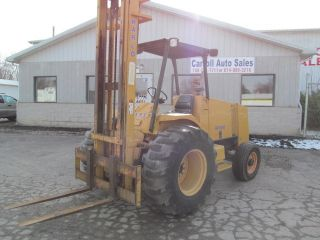 Harlo Hp6500 Rough Terrian Fork Lift photo