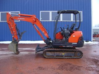 2012 Kubota Kx71 Mini Excavator Only 215 Hours photo