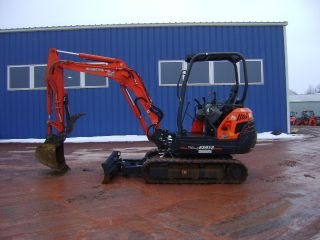 2012 Kubota Kx91 Mini Excavator Only 215 Hours photo