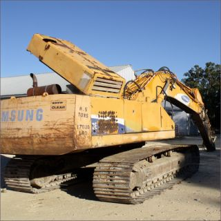 1999 Samsung Excavator Se450lc - 2 7,  635 Hrs W/up photo