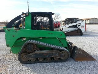 2007 John Deere Ct322 Skid Steer Loader photo
