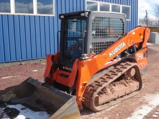 2011 Kubota Svl75 Track Skid Steer Only 220 Hours photo