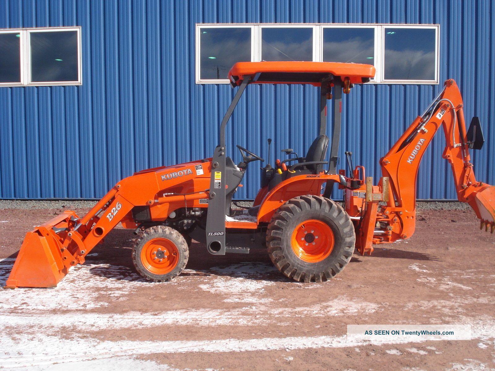 2012 Kubota B26 Tractor Loader Backhoe Only 65 Hours Backhoe Loaders photo