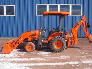2012 Kubota B26 Tractor Loader Backhoe Only 65 Hours photo