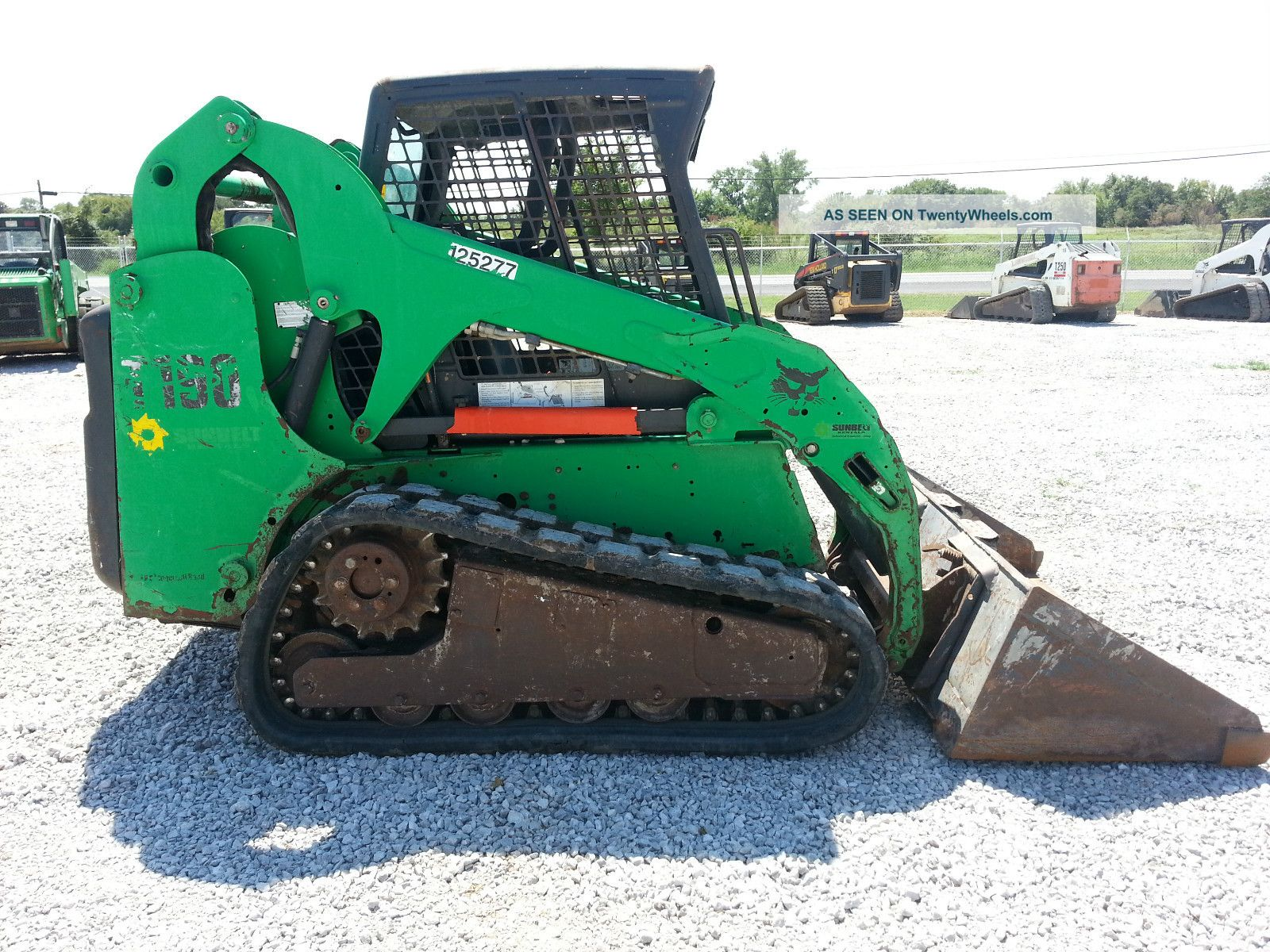 2007 Bobcat T190 Skid Steer Loader Skid Steer Loaders photo