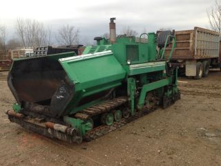Barber Greene - 225 Asphalt Paver John Deere Diesel Engine photo