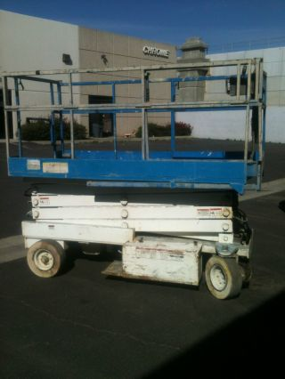 26ft Scissor Lift,  Scissorlift,  Marklift photo