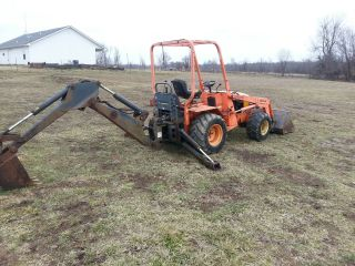 Allmand Mini Backhoe photo