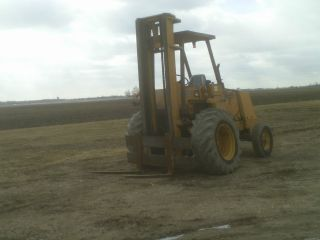 Case 585e Fork Lift Offroad photo
