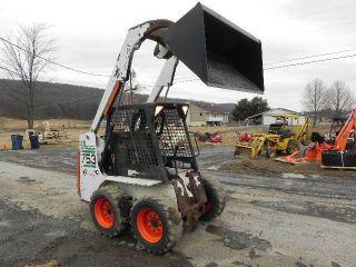 2001 Bobcat 753 Skid Steer Loader Kubota Diesel 43.  5hp Aux Hyds Good Tires Video photo
