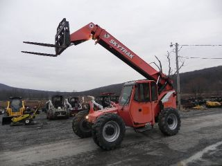 2005 Skytrak 8042 Jlg Telescopic Telehandler Fork Lift Cab Heat 8000 Lbs 42 ' photo