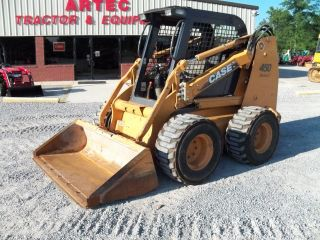 2008 Case 450 Skid Steer Loader - Multi Terrain - Bobcat - Tractor photo