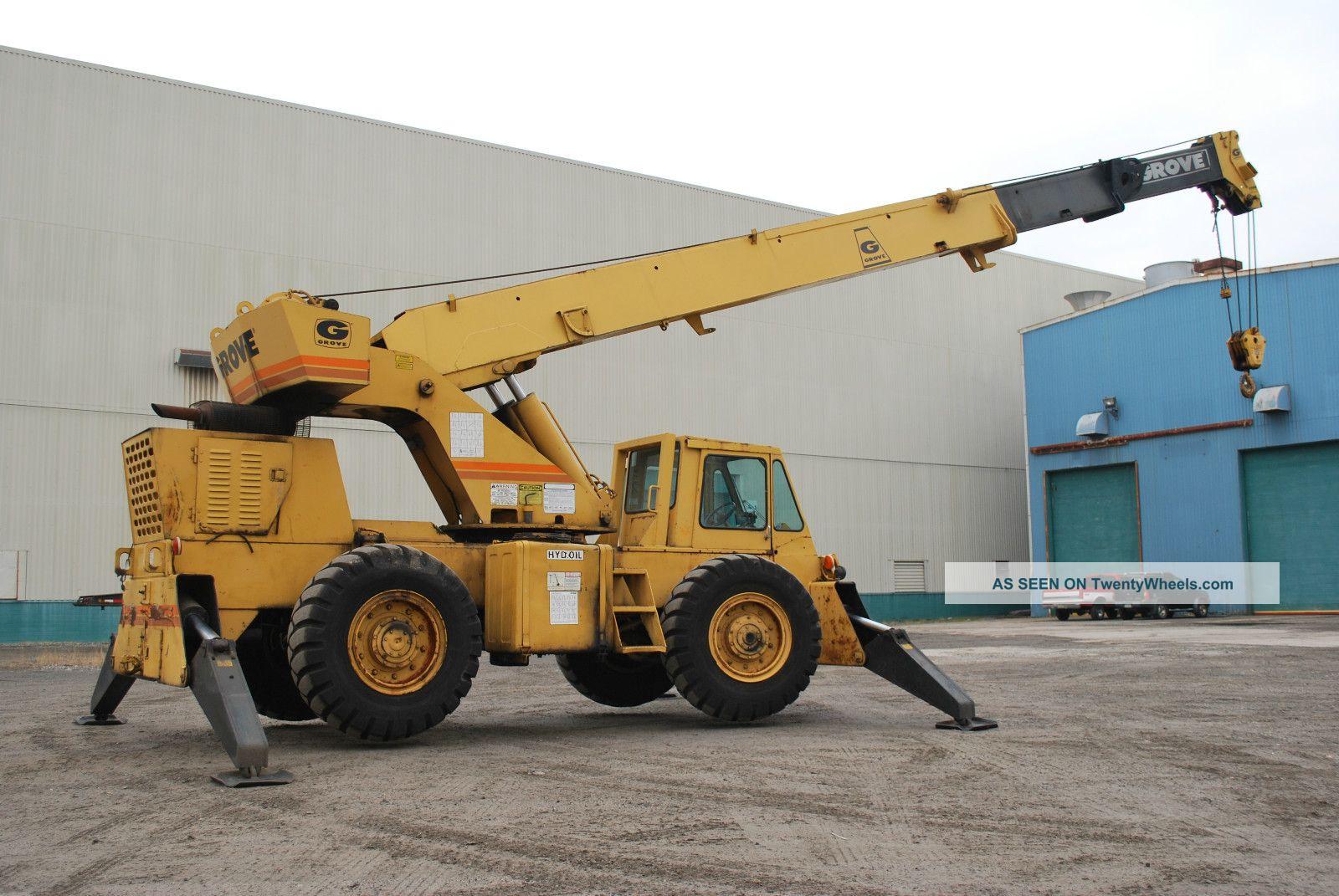 18 ton grove truck crane bing images for Crane grove