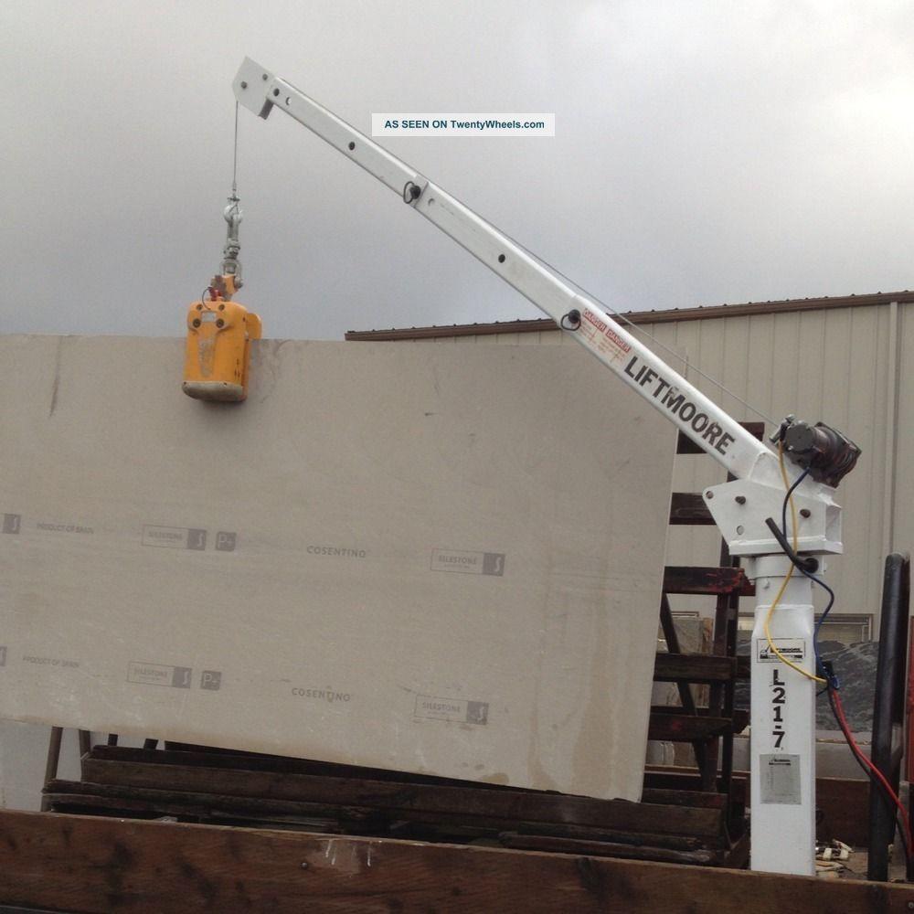 Liftmore Truck Crane L21 - 7 2000 Lb Heavy Duty Winch Power Lift Pickup Crain Cranes photo
