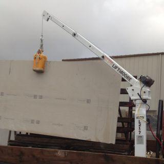 Liftmore Truck Crane L21 - 7 2000 Lb Heavy Duty Winch Power Lift Pickup Crain photo