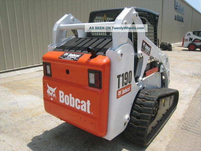 Bobcat Skid Steer Paint : Bobcat t hrs tracks new paint open