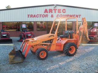 2007 Allmand Tlb425 Loader Backhoe Tractor - Machine photo