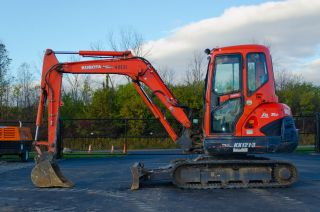 2008 Kubota Kx121 - 3 Series Excavator With Heated Cab And A/c. photo