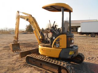 2006 Komatsu Pc35 Mr - 2 Sold New In 2008 Only 1534 Hours Mini Excavator photo
