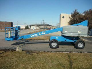 2006 Genie S - 40 4x4 Boomlift Manlift Telescopic Aerial Stick Boom Work Platform photo