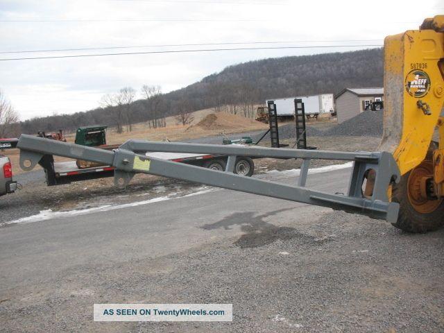 Shooting Material: Jcb 506c 506 Shooting Boom Material Reach Fork Lift Truss