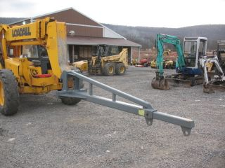 Jcb 506c 506 Shooting Boom Material Reach Fork Lift Truss Jib Boom For Fork Lift photo