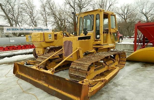 1988 Cat D3b Lgp, Cat 3204 Diesel Engine Rated At 65 Hp, Power Shift