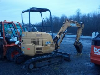2005 John Deere 27c Zts Mini Excavator Dozer Backhoe photo