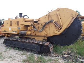 91 Vermeer T655 Rock Saw Trencher photo