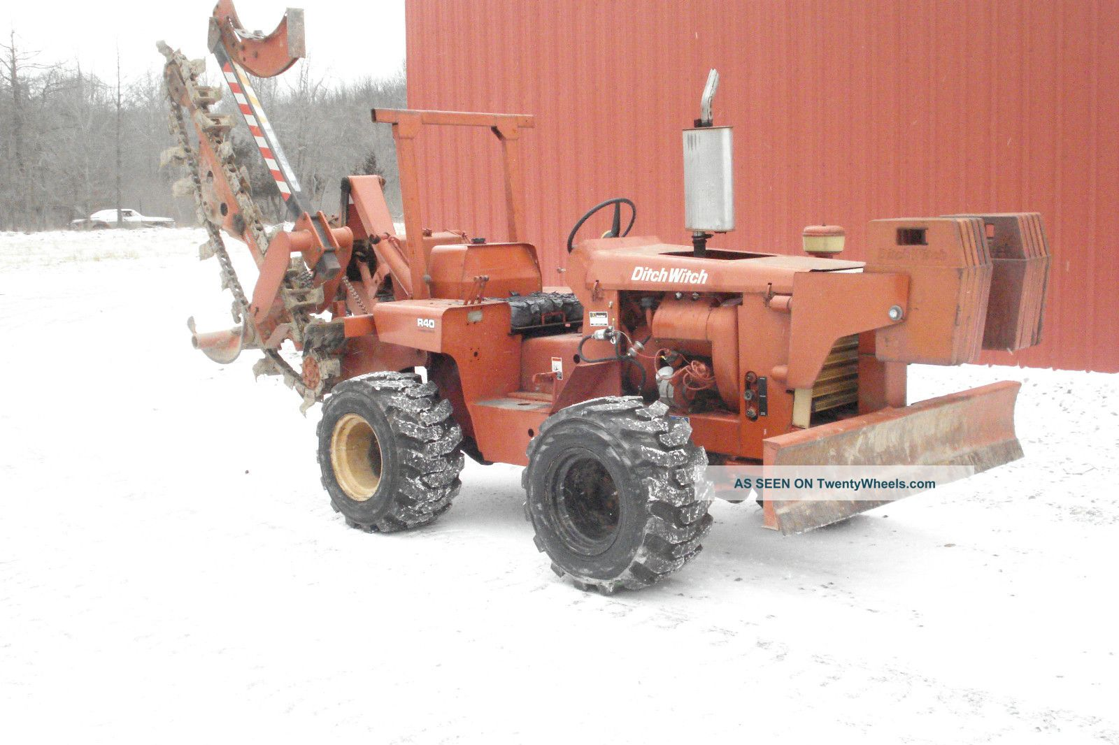 Ditch Witch R 40 Excellent Shape Other photo