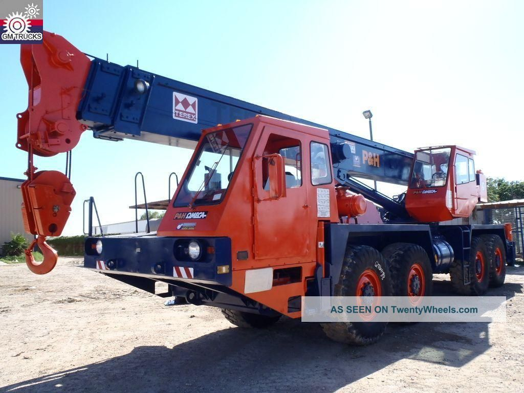 Terex Hshmc - 25 Crane (gm104188) Cranes photo