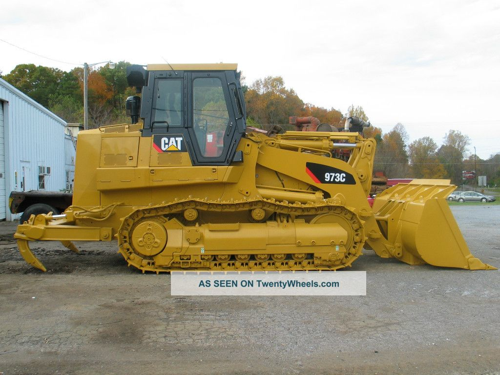 Construction heavy equipment trailers crawler dozers loaders 2005 cat 973c wh crawler loader refurbished many items 1200 hours on tracks photo publicscrutiny Choice Image