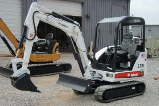 Bobcat 328g Compact (mini) Excavator 234211980 photo