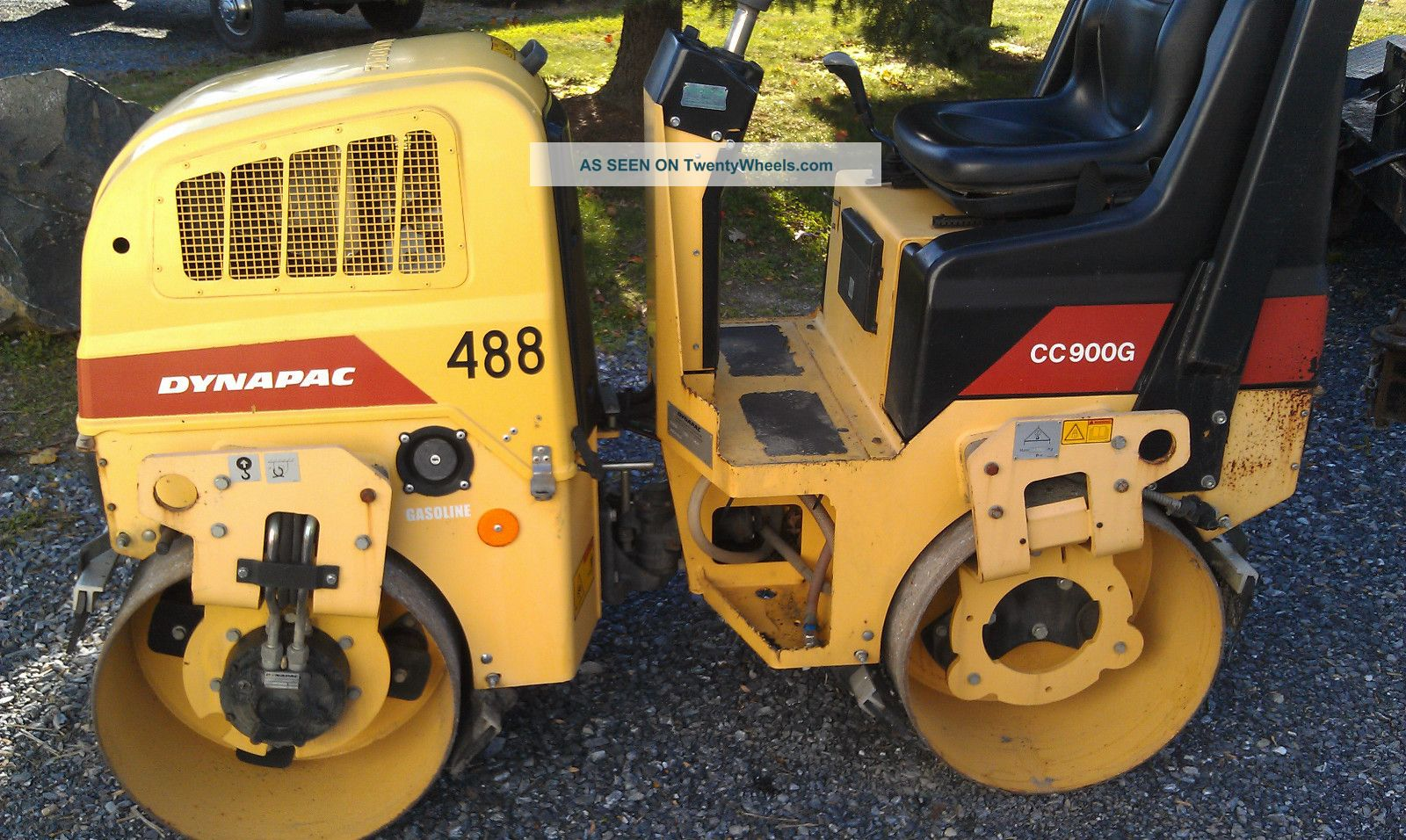 2007 Dynapac Cc900g Tandem Vibratory Smooth Drum Roller Compactors & Rollers - Riding photo